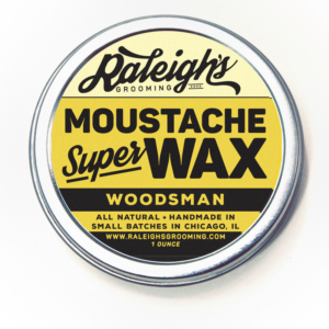 Woodsman Moustache Super Wax
