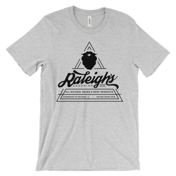 raleigh s black triangle logo tee. Black Bedroom Furniture Sets. Home Design Ideas